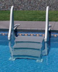 inground swimming pool steps ladders